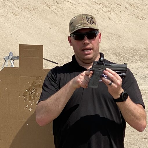 Riley Bowman Teaches About Grip in Pistol Intelligence Course