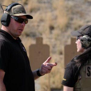 Riley Bowman Teaching Sheriff Deputy