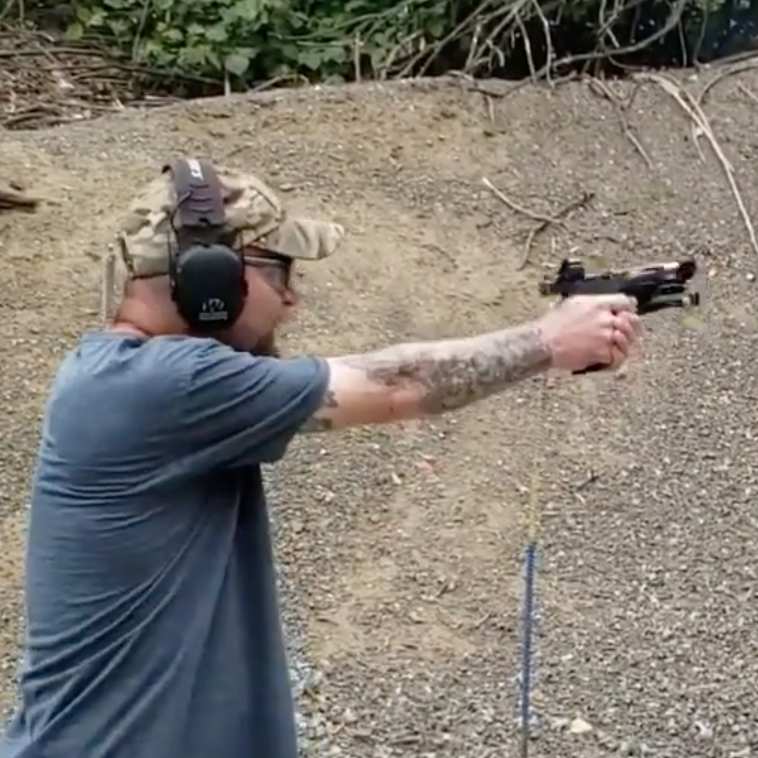 Christopher Bean Shooting the MSP 3&2 Drill